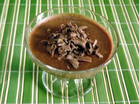 mousse de chocolate rápido
