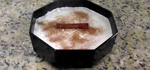 receita arroz de leite