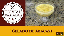 video receita gelado abacaxi