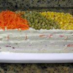 Torta Fria de Vegetais