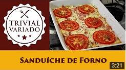 video receita sanduiche de forno